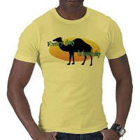 """Every Day is Hump Day"" (Camel) Tees from Zazzle.com"