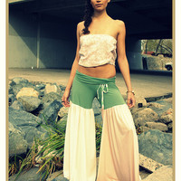 CUSTOM Made to Order LOVE Hippie Vintage Bell Bottom Bloomer Wide Leg Pants