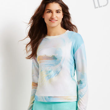 Aeropostale  LLD Sublimated Waves Sweatshirt