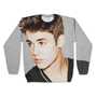 Justin Bieber Sublimated Sweatshirt