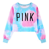 harajuku Top Quality Women's Tracksuits Love Pink clothing Brand Sportswear kawaii Short Pullover Sweatshirts Set For Women-in Hoodies & Sweatshirts from Women's Clothing & Accessories on Aliexpress.com | Alibaba Group