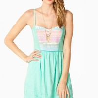 WREN TANK DRESS IN MINT