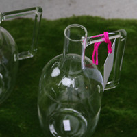 MODERN ITALIAN TALL GLASS JUG – IN STORE ONLY