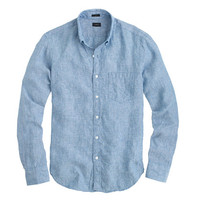 J.Crew Mens Délavé Irish Linen Shirt