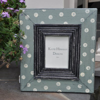 Handpainted and Distressed Reclaimed Wood by KatieHermanDesigns