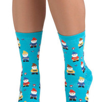 ModCloth Fairytale Make Yourself Gnome Socks