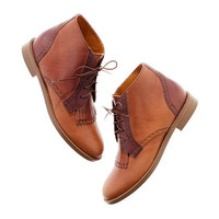 The Aberdeen Two-Tone Boot