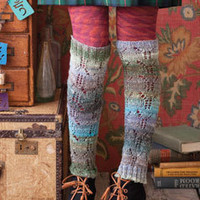 Knit Noro Leg Warmers
