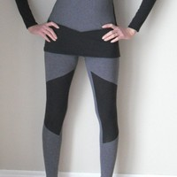 AERIAL leggings version 2  xs s m l by birdapparel on Etsy