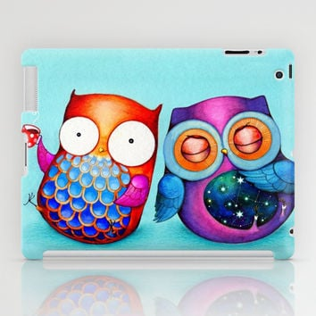 Night and Day Owls iPad Case by Annya Kai