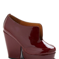 Beet That Heel | Mod Retro Vintage Heels | ModCloth.com
