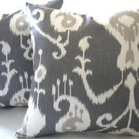 Decorative Ikat Pillow cover