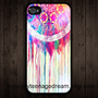 Dream Catcher iphone 4 case,iphone 4s case, iphone hard case, black iPhone Case --SALE