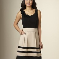 Ponte Petals 2-in-1 Dress | Women's Day & Casual Dresses | THE LIMITED