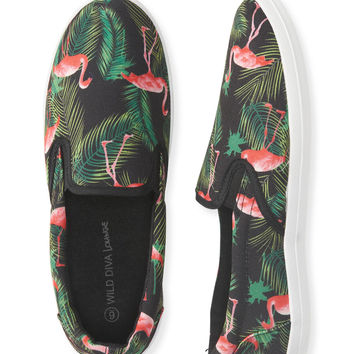 Aeropostale  Flamingo Slip-On Shoe - Black,