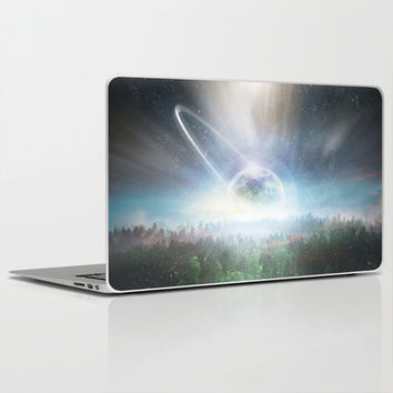 Death cup Laptop & iPad Skin by HappyMelvin