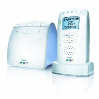 Amazon.com: Philips AVENT DECT Baby Monitor with Temperature Sensor and New Eco Mode, White: Baby