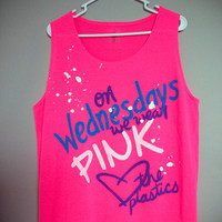 On Wednesdays We Wear Pink Tank Top (XS, S, M, L, XL)