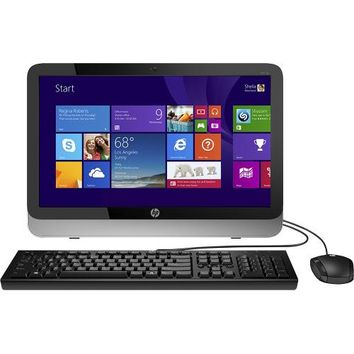 "HP - 19.5"" All-In-One Computer - 4GB Memory - 500GB Hard Drive - Silver/Black"