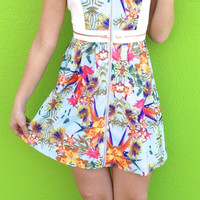 Play in the Garden dress
