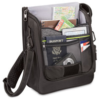 The Thief Thwarting Messenger Bag - Hammacher Schlemmer