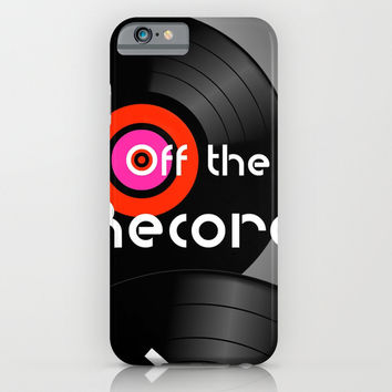 Off the Record - phone case