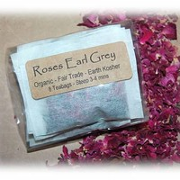 Roses Earl Grey Organic Tea on Luulla