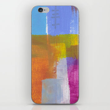 Tree Lined Street Abstract iPhone & iPod Skin by Karin Lauria