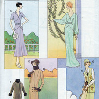 Doll Fashion Pattern - Vogue Collection - Circa 1920&#x27;s, 30&#x27;s - 11.5 inch barbie type doll.