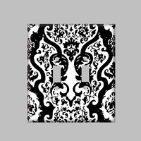 Switchplate Black Damask Modern Swi.. on Luulla