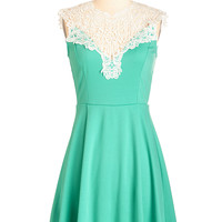 ModCloth Mid-length Sleeveless A-line Beautifully Blithe Dress