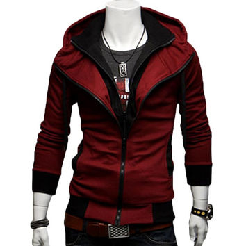 The Creed Hoodie Red
