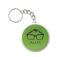 GLASSES KEYCHAIN from Zazzle.com