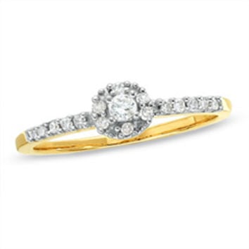 Promise Rings - Shop Gold, Diamond, Heart, Solitaire and Three Stone Promise Rings at Zales
