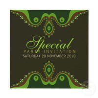 Goddesian Earth Special Invitations from Zazzle.com