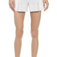 3.1 Phillip Lim Pleated Shorts with Front Zip