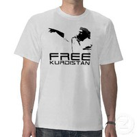 Free Kurdistan Shirts from Zazzle.com