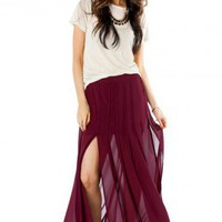 Karel Maxi Skirt - ShopSosie.com