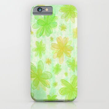 4 Seasons - Spring iPhone & iPod Case by Alice Gosling