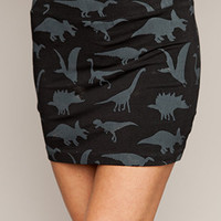 Dino Shapes Skirt, Drop Dead Clothing