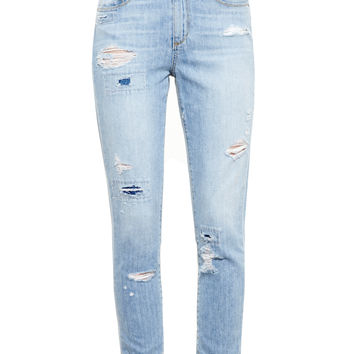 Distressed Callie Boyfriend Jeans - PAIGE DENIM