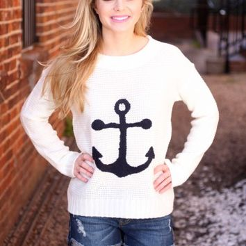 Something to Dock About Sweater - New Arrivals