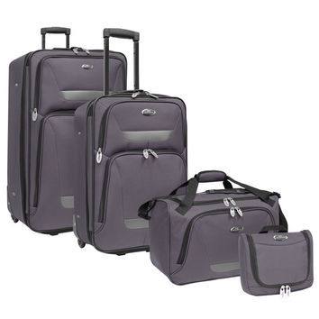 U.S. Traveler Westport 4-Piece Luggage Set