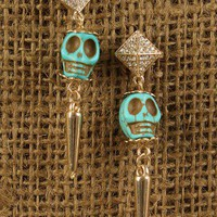 Skull Glam Earrings