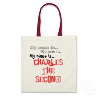 Charles II: King of Bling - Horrible Histories Bags from Zazzle.com