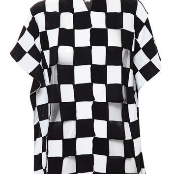 Checked Knit Top - JUNYA WATANABE