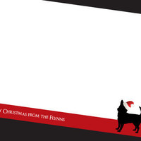 Dog Christmas Stationery - Chihuahua Christmas - Christmas Card - Christmas Stationery - Family Stationery