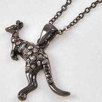 Kangaroo Charm Necklace