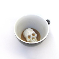 Skull Creepy Cup