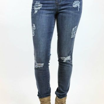 Front Ripped Skinny | Tractr